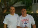 Joel Fuhrman and John Allen after the jog
