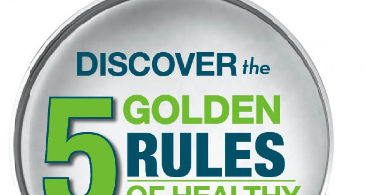 The 5 Golden Rules of Healthy Eating!