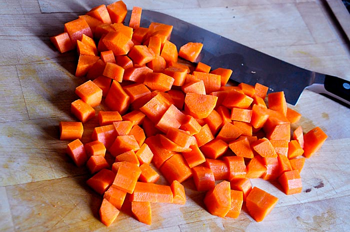 chopped carrots - photo #14