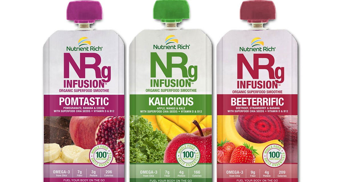 Organic<br />Superfood<br />Smoothies
