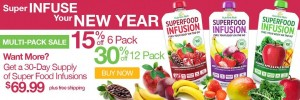 Infuse Your Body With Superfoods in the New Year